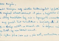 Babits levél