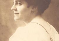 Édesanyja, Molnár Sándorné, Szászy Jolán 1934-ben