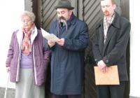 Dr. Rappai Józsefné, Dr. Töttős Gábor és Csötönyi László (2003.11.26.)