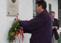 Csokonai-Illés Sándor koszorúz (2003.11.26.)