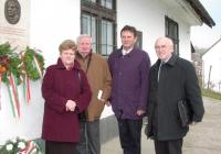Elekes Eduárdné, Pomogáts Béla, Csokonai-Illés Sándor, Sipos Lajos (2003.11.26.)