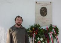 Tövisháti András az emléktábla alkotója (2003.11.26.)