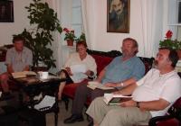 Felolvasás Babits Mihály műveiből a Múzeumok éjszakáján (2007.06.23.)