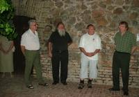 Bakó László szobrászművész Faragott fények c. kiállításának megnyitója (2007.06.23.)