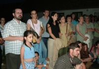 A kiállítás megnyitójának közönsége (2007.06.23.)