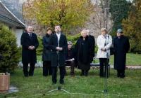 Az Emlékház felújított, új kiállításának megnyitója (2008. november 26.)