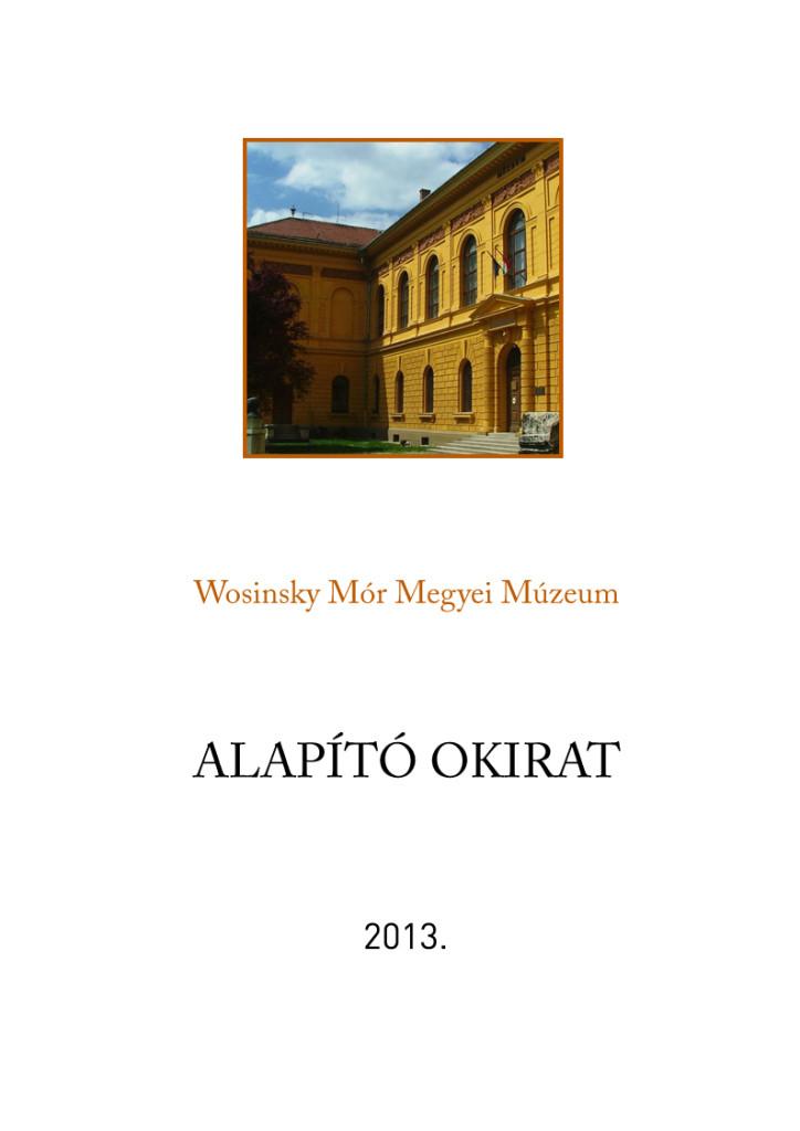 Alapito okirat2013
